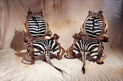 Los muebles de la sala de cazadores y exploradores Amazing-furniture-animal-04