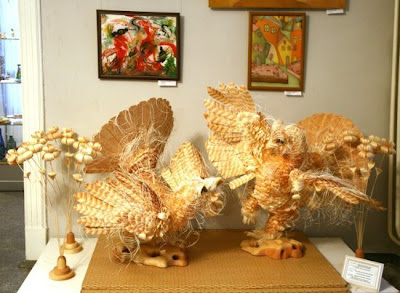 wood carved sculpture
