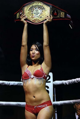 ring girl costume