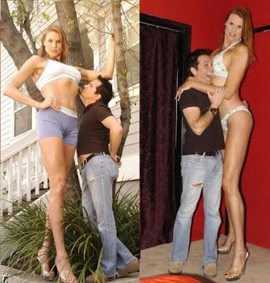 worlds tallest model
