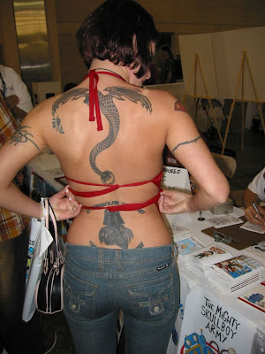 woman tattoo pics