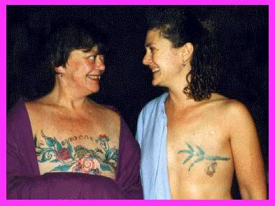breast cancer tattoos