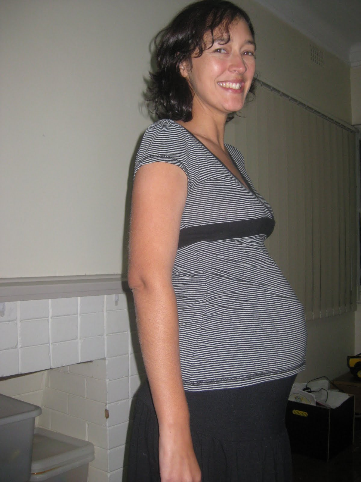 Months Pregnant Not Showing For my other pregnancies i