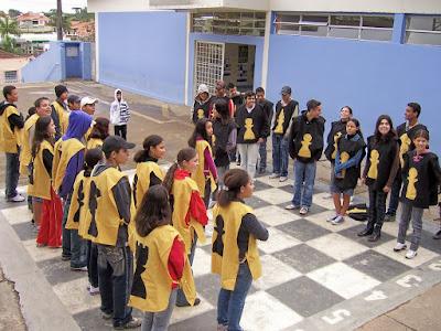 XADREZ HUMANO - BRASIL