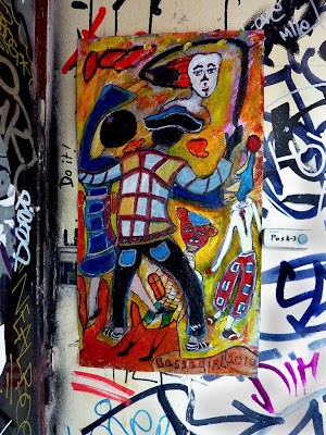 Street Art Without Borders, Graffiti, Bassagirl, Wheatpaste, Eric Marechal, Paris