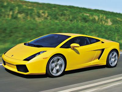 Warna Kuning Body Modif Unik Lamborghini Gallardo Maximal
