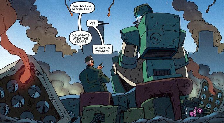 Big Small Comix Com Going Backwards All Hail Megatron