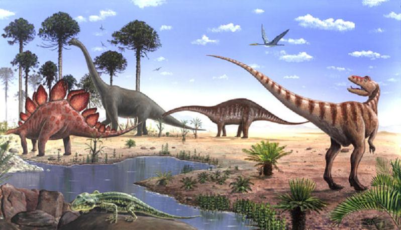 Dinosaurus Kartun