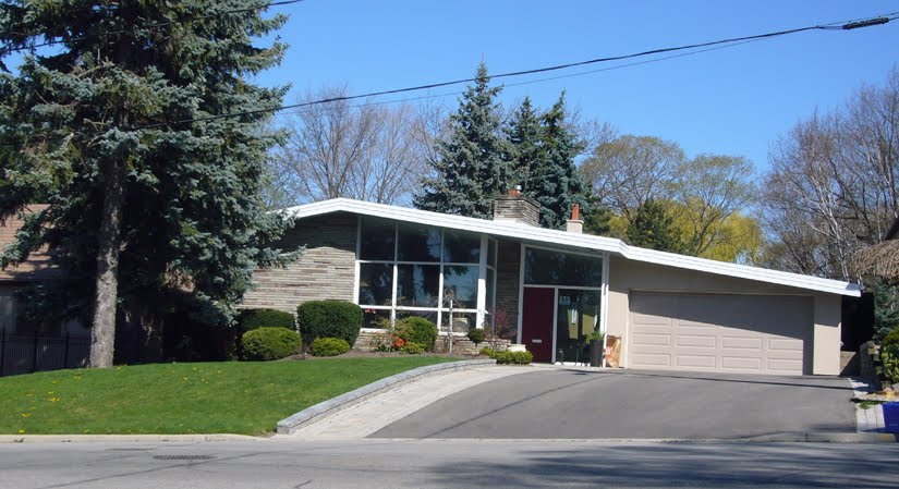 Occasional Toronto 50s House