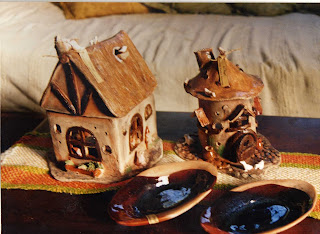 Souvenirs artesanias pintura ceramica vidrio talleres piezas de ceramica hornitos - Vajilla rustica ...