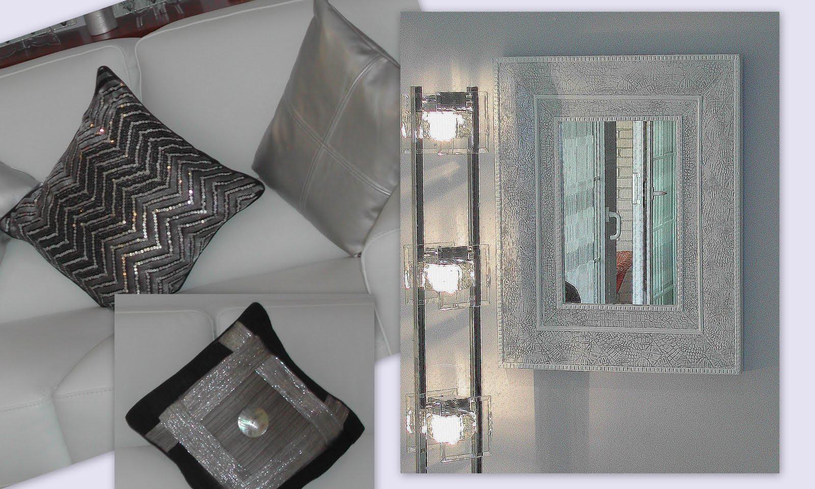 Manualidades la ventana de maria del carmen restauraci n for Espejo gris plata
