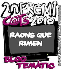 2n premi blog temtic Premis cat 2010