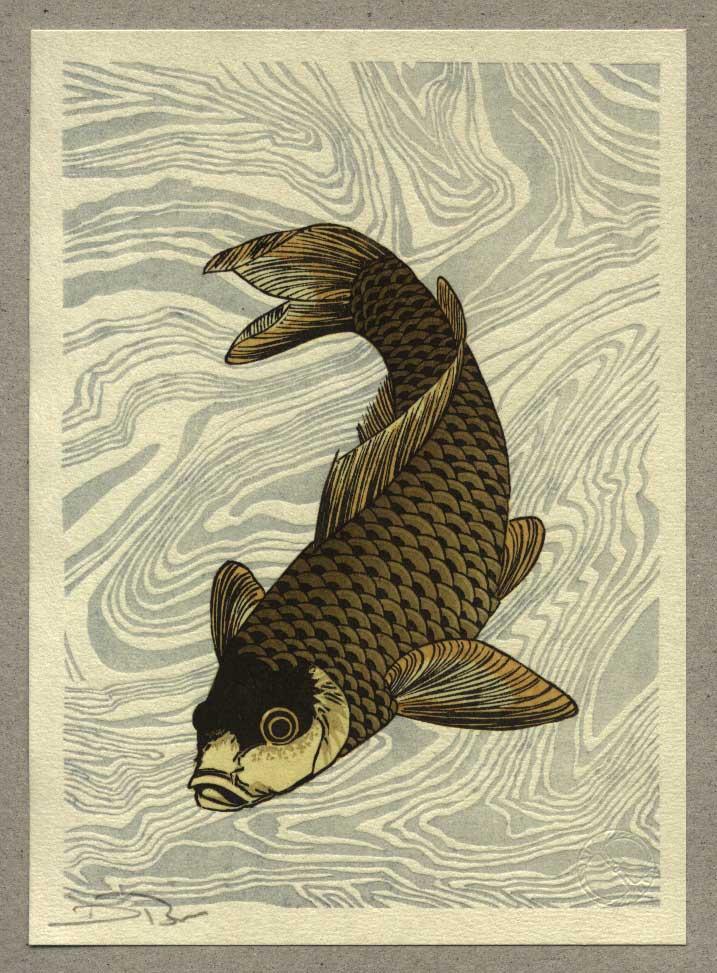 In the Studio: Hokusai's Fish