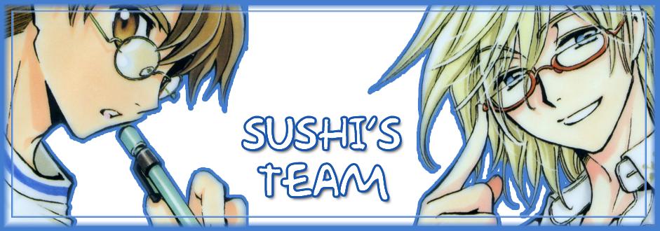 L'equip del Sushi... CLAMPitza't