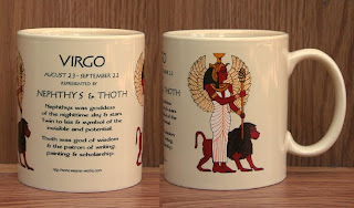 Virgo Zodiac Symbols ( Zodiac Mug )