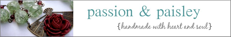Passion and Paisley {handmade boutique}