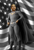 Obama Superman Grafic Image