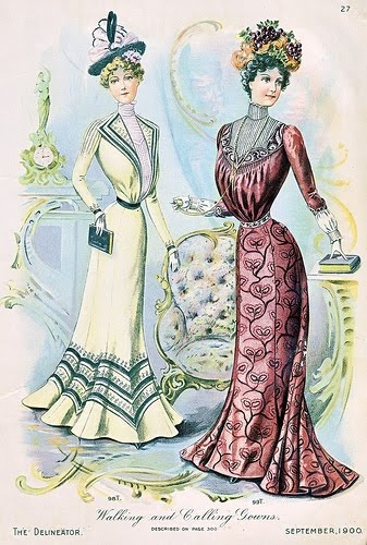 early 1900s fashion