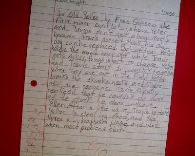 Old yeller essay