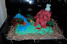 Dinosaur Cakeasauras