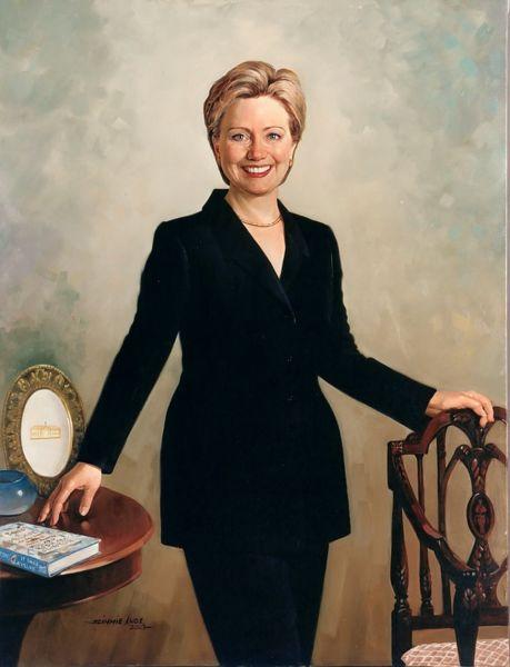[V+sign__Hillary+Clinton+portrait]