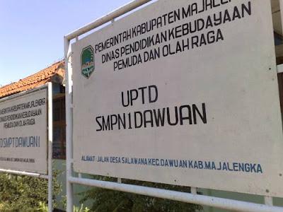 SMP negeri Salawana, Majelengka