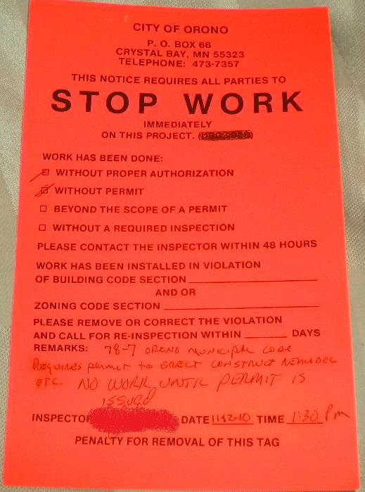 The Power Of Small Wind The Stop Work Order - Stop work order template