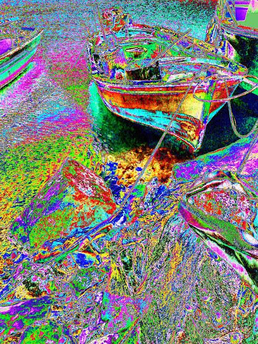 boat [ Greek  Meta - Impressionism ] 1