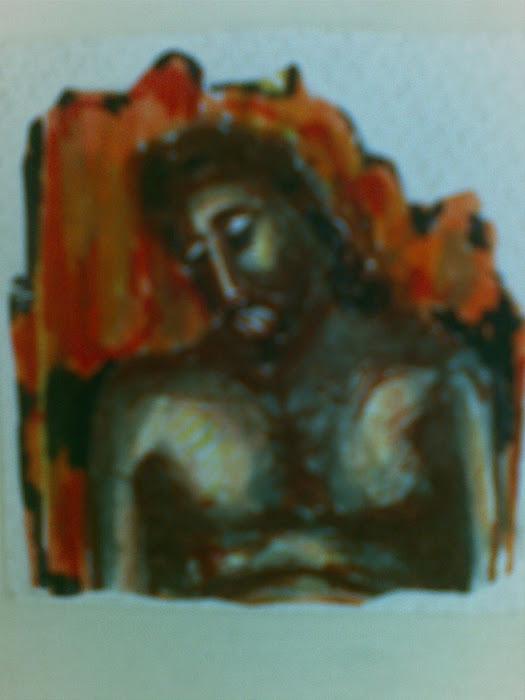 Ακρα Ταπεινωση [ Αναφορα, Μανουηλ Πανσεληνος , Θεοφανης ο Κρης ] paintings