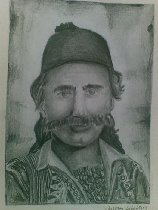 Οδυσσεας Ανδρουτσος [ ηρωας παλικαρι ] paintings