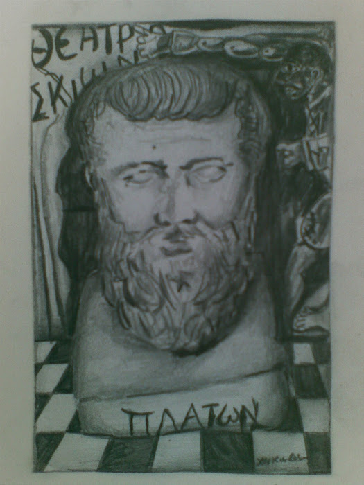  [ Platon ] in Cave [ from &#39;&#39;  ] thru     [ paintings ]