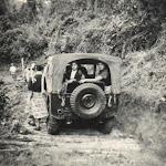 Primer jeep que llegò a Canagua 1954