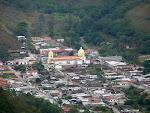 Vista de la poblacion de Canaguà