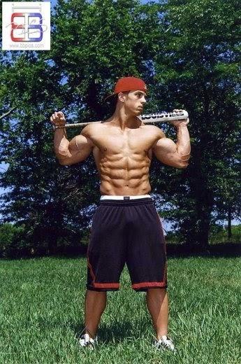 Muscle Jocks Baseball Hunk