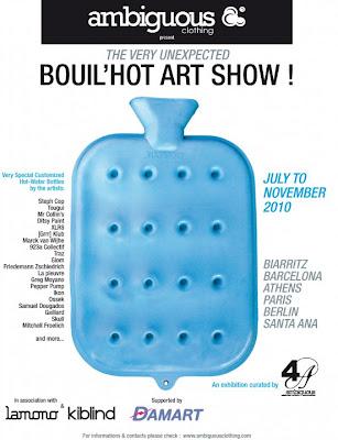 Bouil'Hot Art Show exposición itinerante de Ambiguous en Barcelona