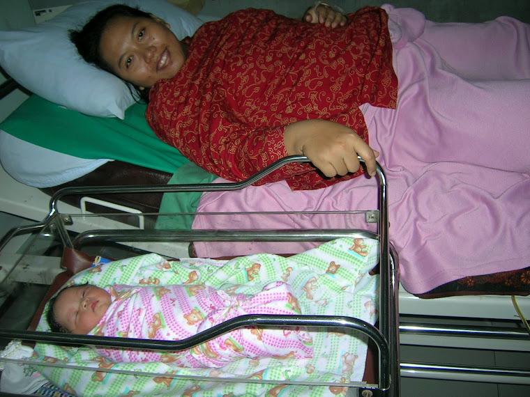 Kelahiran putri kecil kami