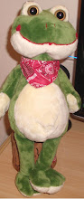 Sr. Sapo  -  Mascote do Bloguinho