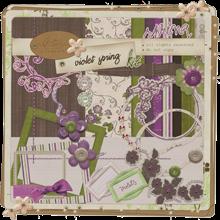 violet spring