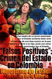 Falsos positivos crimen de Estado