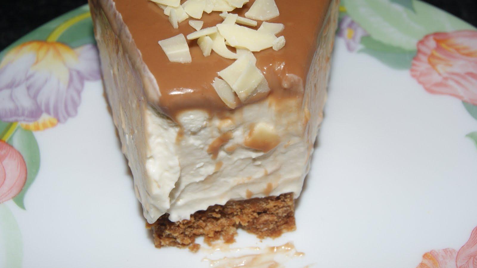 Des g teaux bons beaux cheese cake sans cuisson au caramel speculoos - Gouter rapide sans cuisson ...
