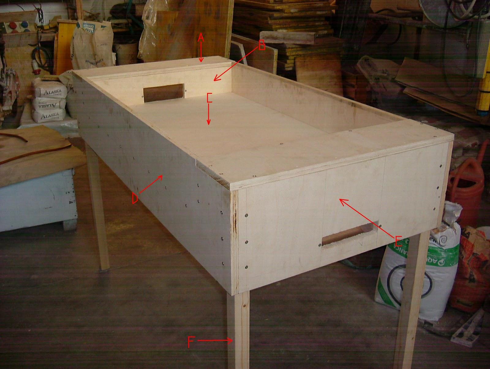 Costruire un calcetto balilla fase due for Costruire un biliardo