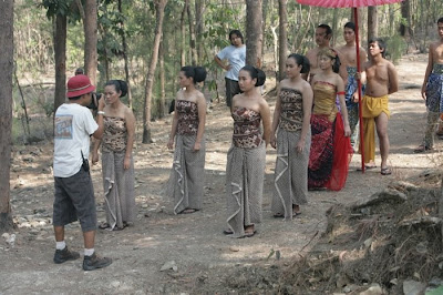 Drupadi behind the scene