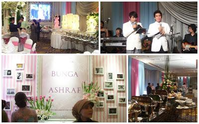 foto resepsi pernikahan BCL & Ashraf
