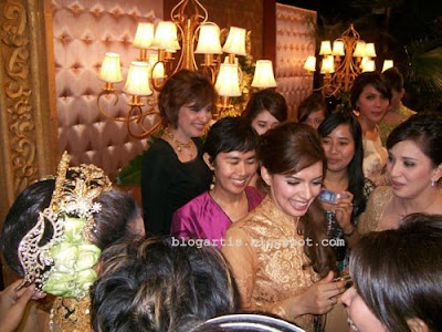 Meutya Hafid wedding, Najwa Shihab, Desi Anwar and fellow presenter