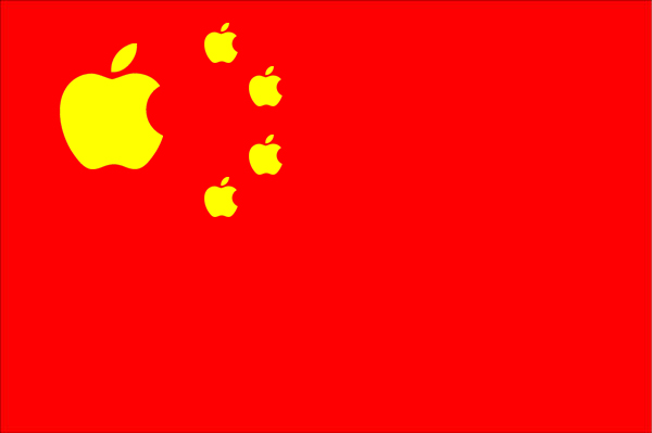 China Flag_Apple