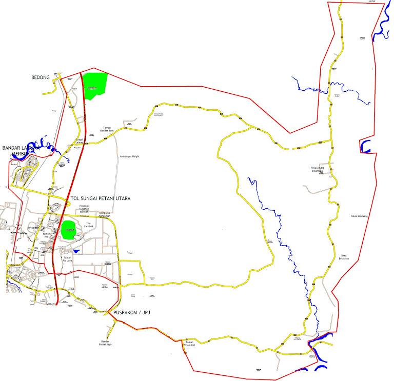 Peta DUN Bukit Selambau
