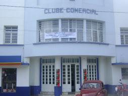 Clube Comercial onde é realizado o Festival
