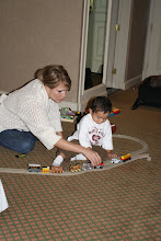 Playing with Thomas the Tank Engine Track