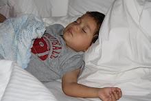 Mateo napping