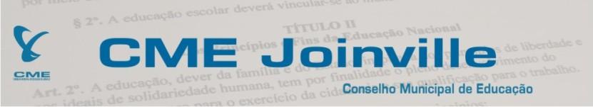 CONSELHO MUNICIPAL DE EDUCAÇÃO DE JOINVILLE/SC